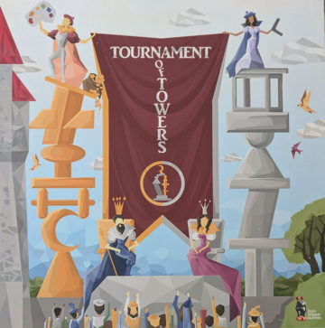 Tournament of Towers box cover