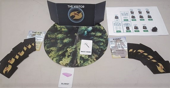 The Visitor Set Up