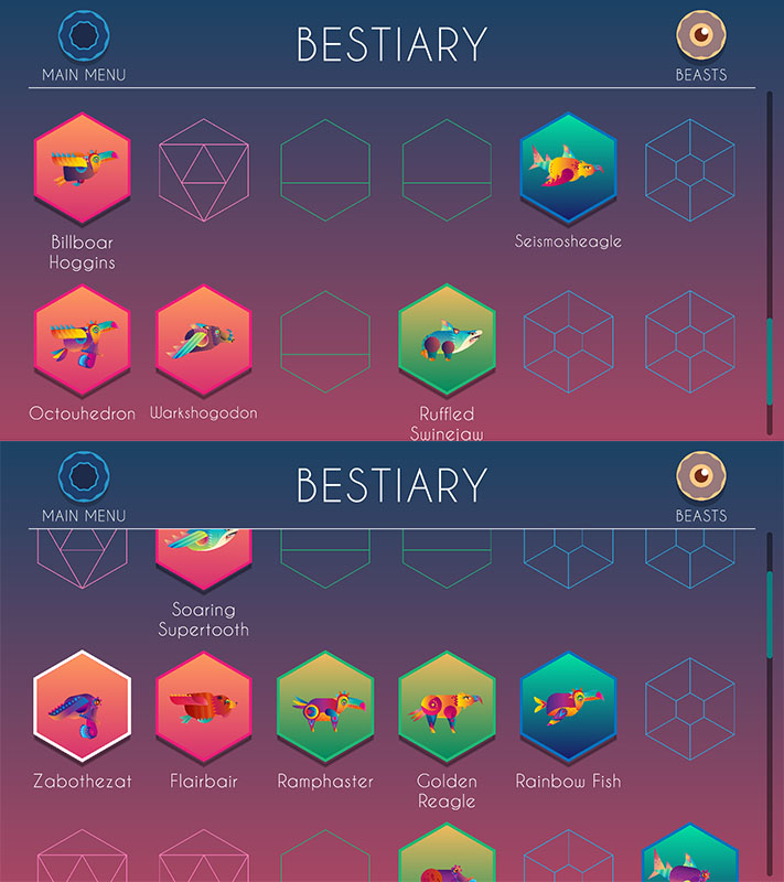 beasts of balance app screenshot