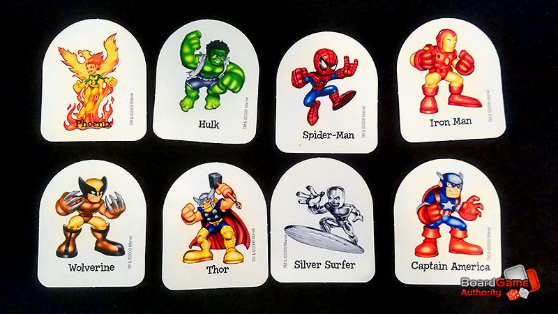 chutes and ladders marvel pawns