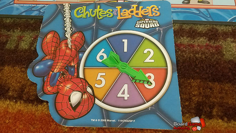 chutes and ladders marvel spinner