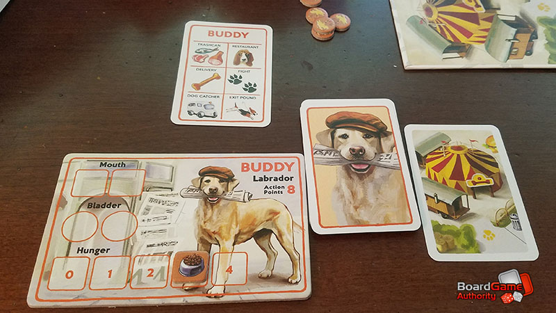 a dog's life board game buddy
