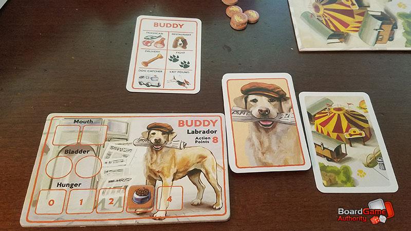 a dog's life board game buddy