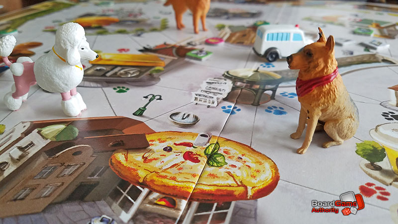 a dog's life board game closeup