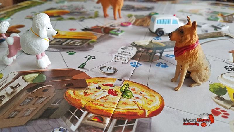 a dog's life board game closeup