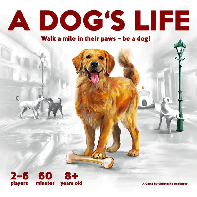 a dog's life board game