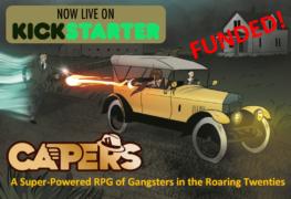 CAPERS Kickstarter RPG