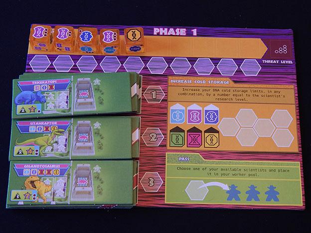 Dinosaur Island kickstarter board game