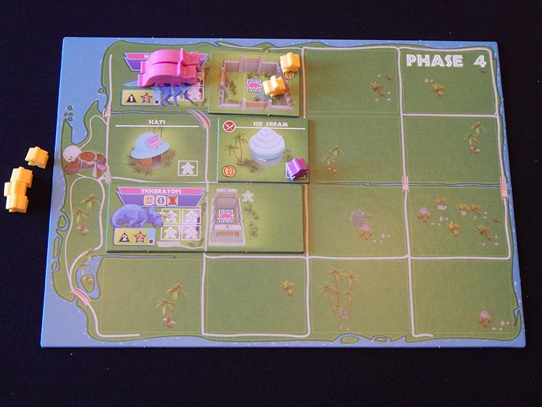 Dinosaur Island kickstarter boardgame