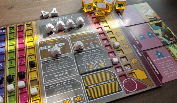 dinosaur island boardgame