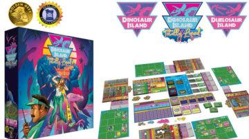 dinosaur island kickstarter