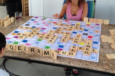 board game scrabble