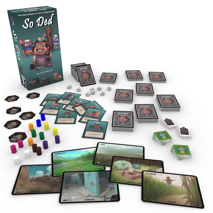so ded kickstarter card game review