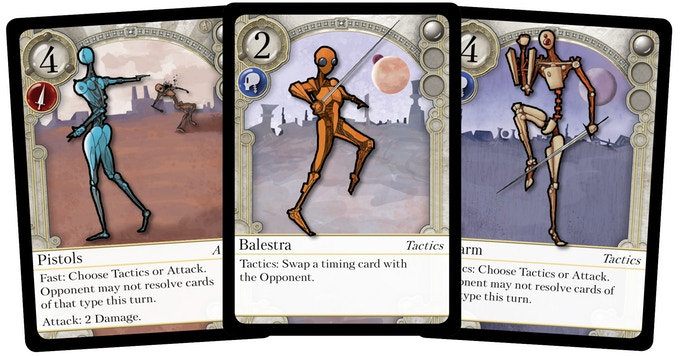 the duel point of honor cards