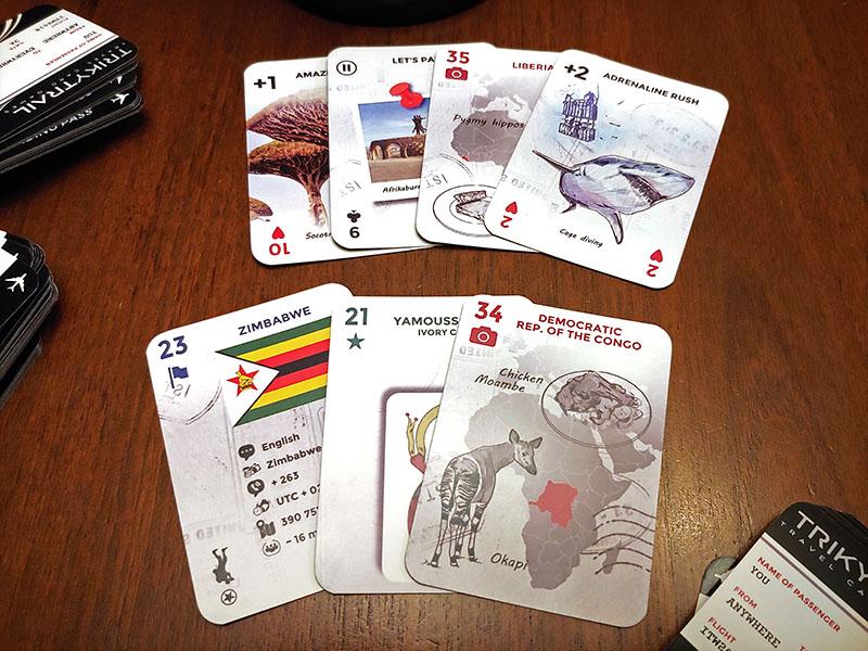 trikytrail card game