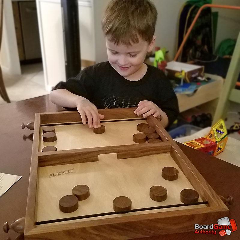 pucket dexterity game