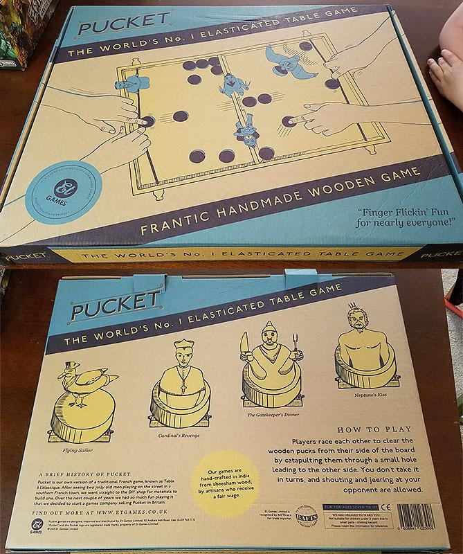 pucket game box