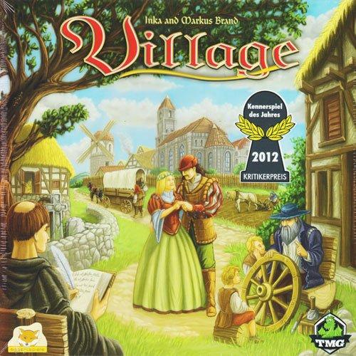 village board game box cover
