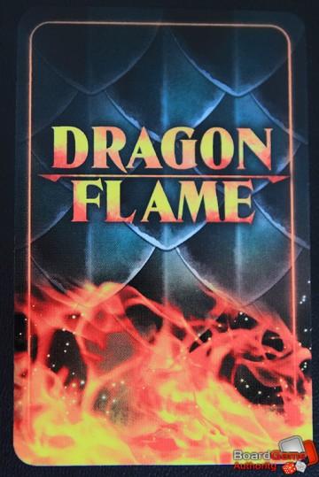 dragonflame card back