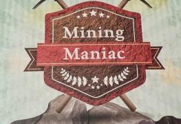 mining maniac board game box