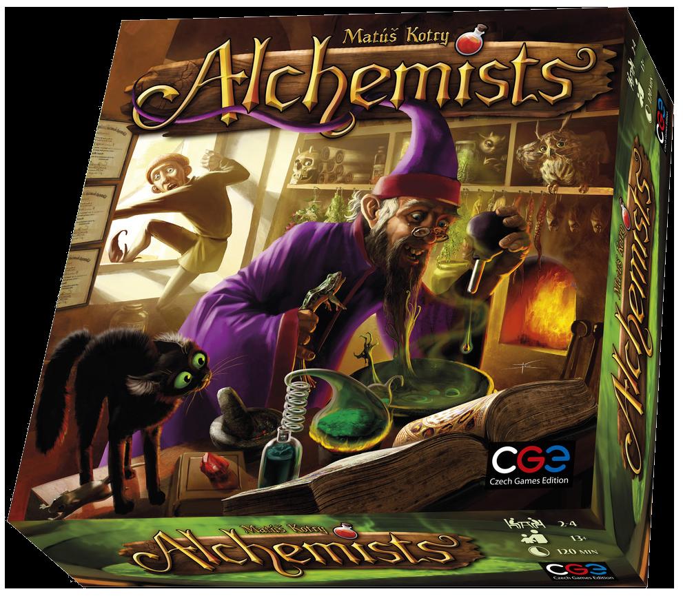 alchemists game box