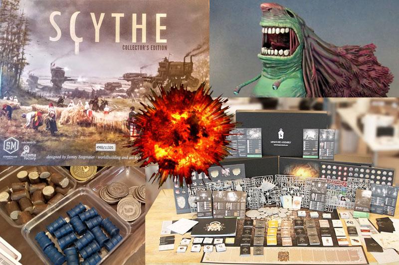 scythe game kingdom death monster